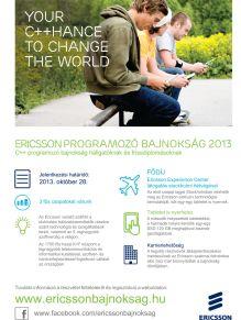 Ericsson Programozó Bajnokság 2013