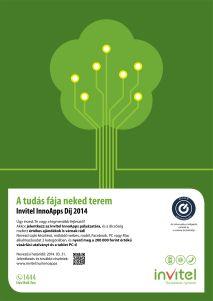 Invitel InnoApps 2014 plakát